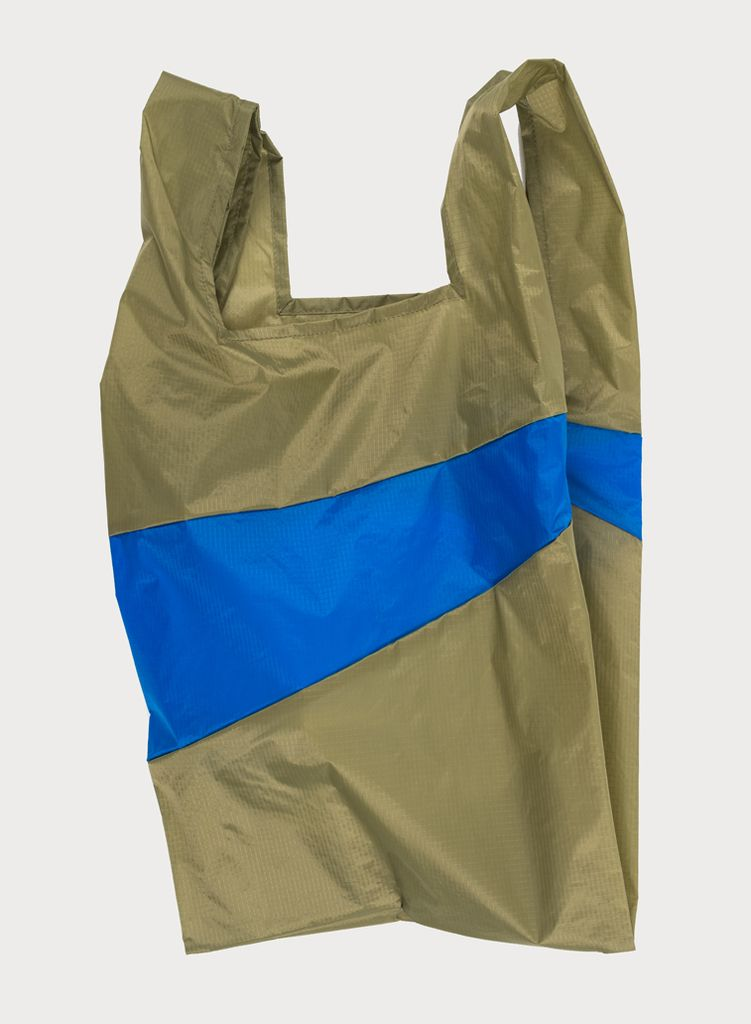 SUSAN BIJL Shoppingbag Tetra & Blue