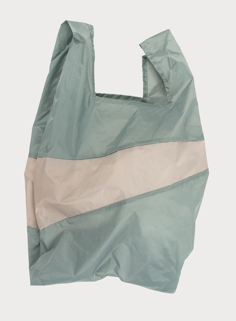 SUSAN BIJL Shoppingbag Grey & Agaat