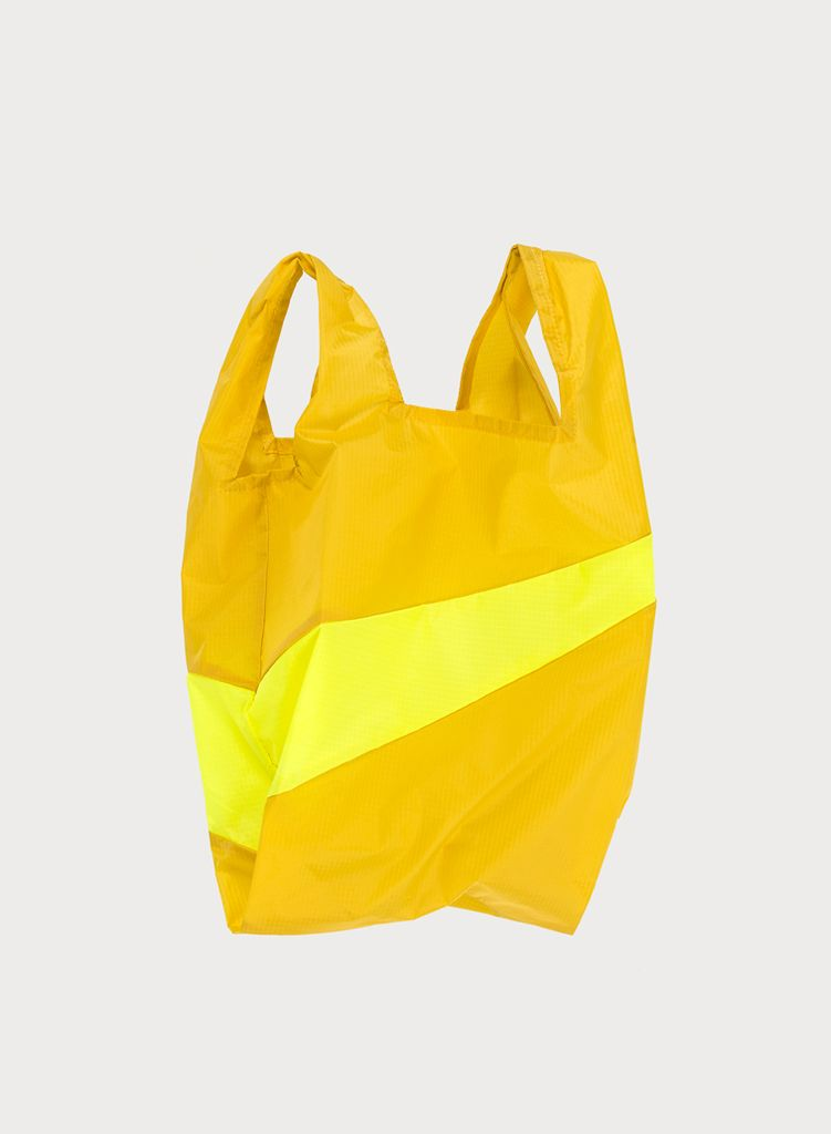 SUSAN BIJL Shoppingbag Helio & Fluo yellow