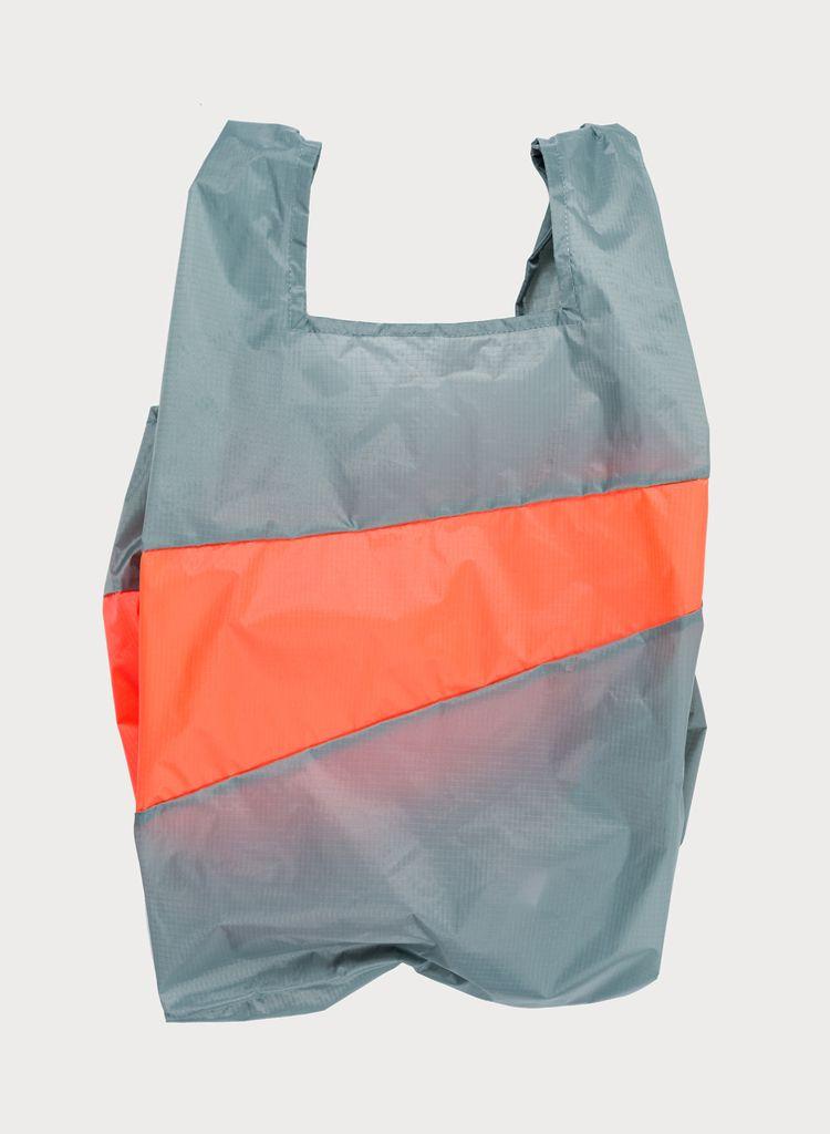 SUSAN BIJL Shoppingbag Grey & Rhodo