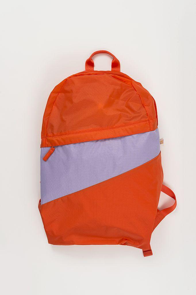 SUSAN BIJL Foldable Backpack Oranda & Jaws