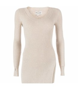REINDERS TWINSET SWEATER CREME