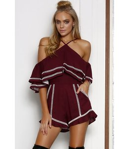 SEVEN WONDERS THE LABEL MALIA PLAYSUIT