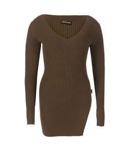 REINDERS TWINSET SWEATER OLIVE GREEN