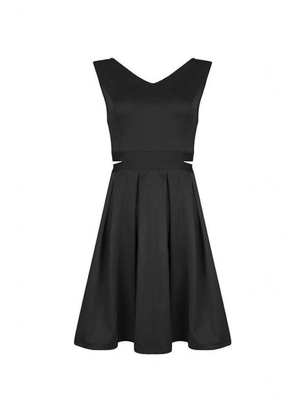 LOFTY MANNER DRESS ROWAN BLACK