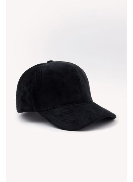 SHARON VELVET CAP BLACK