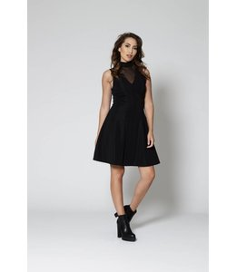 LOFTY MANNER DRESS ROANNE BLACK