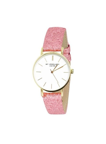 MY JEWELLERY LIMITED WATCH SMALL PINK