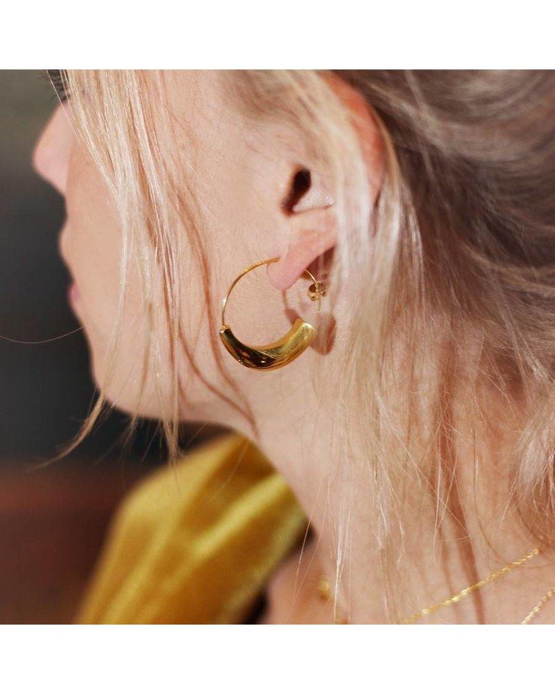 OPEN EARRINGS GOLD