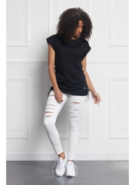 SIXTH JUNE LACE UP TEE