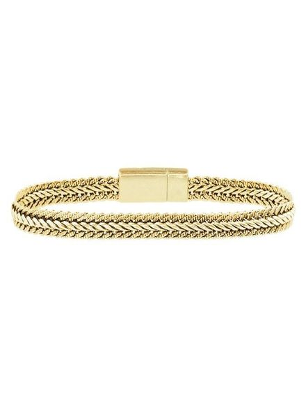 SMALL CHAIN BRACELET GOLD