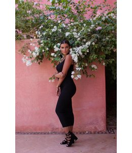 REINDERS REINDERS SARAH DRESS BLACK