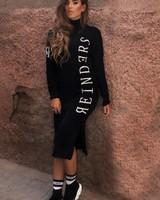 REINDERS COL DRESS REINDERS BLACK