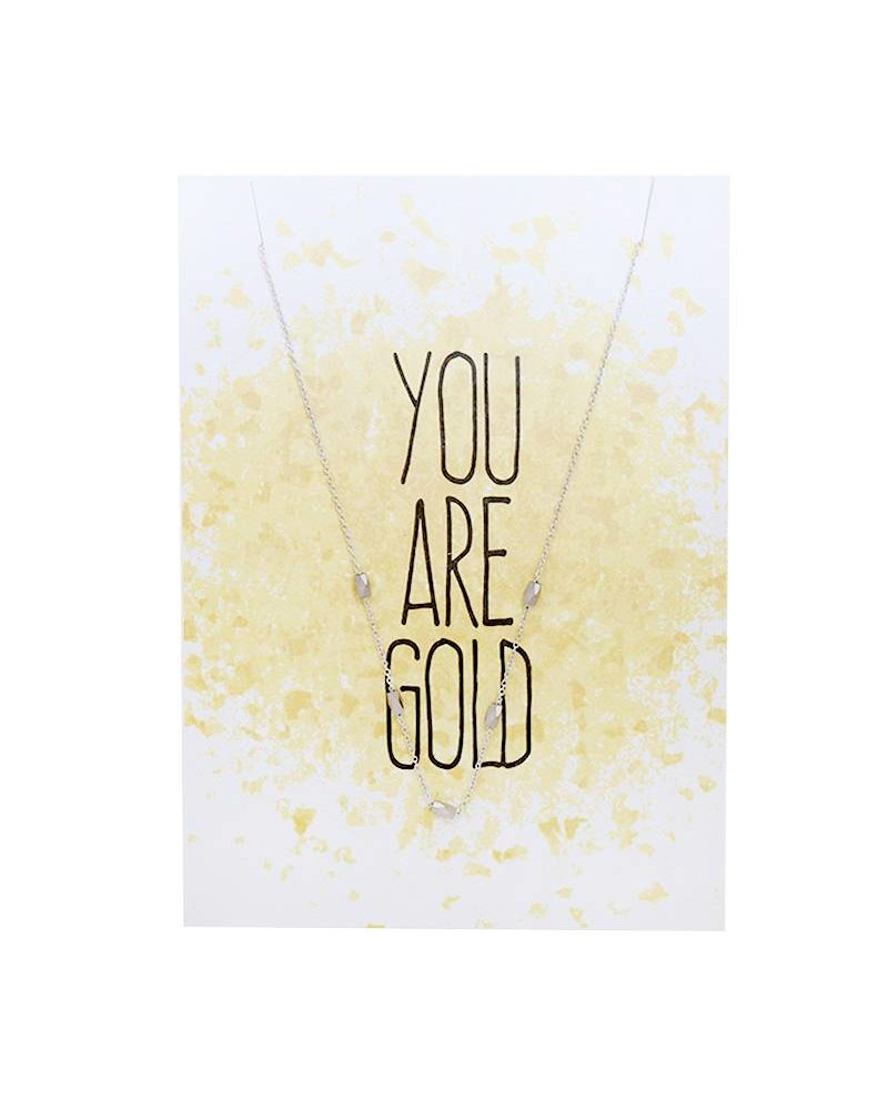 YOU ARE GOLD CARD SILVER