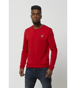 LOFTY MANNER MEN SWEATER RAFAEL RED