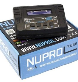 WE Europe Battery Charger SM4 80W LI-FE,LI-PO,NIMH,NICD