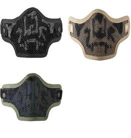 VALKEN Airsoft 2G Wire Mesh Skull Mask BK-OD-TAN