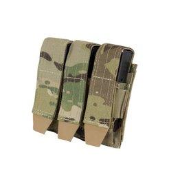CONDOR Triple Pistol Mag Pouch - MultiCam