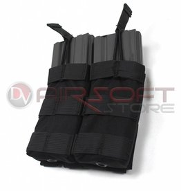 EMERSON Double Open Top  5.56 Magazine Pouch - BL