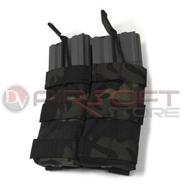 EMERSON Double Open Top  5.56 Magazine Pouch - MC Black