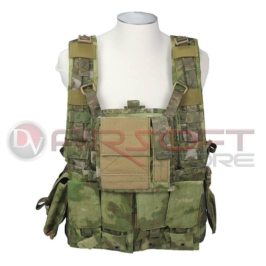 EMERSON Emerson RRV Tactical Vest W/Pouchs Set - AT-FG