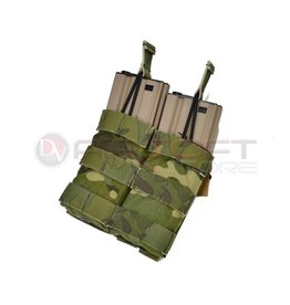 EMERSON Double Open Top  5.56 Mag Pouch - MC Tropic