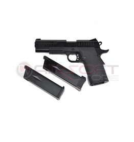 KJ Works KP-08 Hi Capa Pistol Dual Power Gas-CO2