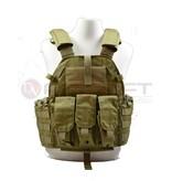 EMERSON Emerson Tactical Vest with M4 pouches - KH