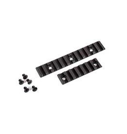Dytac Rail Slot RAS Set - 1 x 12 and 1 x 7 - BK