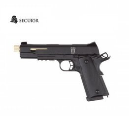 Secutor Rudis III 1911 CO2 / GAS Custom Gold