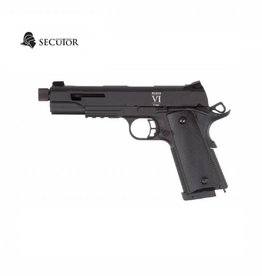 Secutor Rudis VI 1911 CO2 / GAS Custom Black