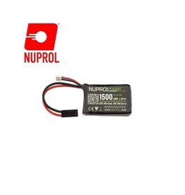 WE Europe Battery Nuprol Lipo 7.4V 1500 mah 20C - Micro