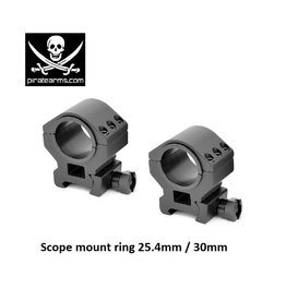 PIRATE ARMS Scope mount ring 25.4mm / 30mm
