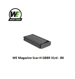 WE Europe WE Magazine Scar-H GBBR 31rd - BK