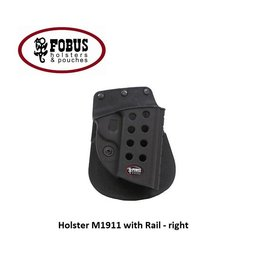 FOBUS Holster M1911 with Rail - right