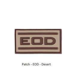 JTG Patch - EOD - Desert