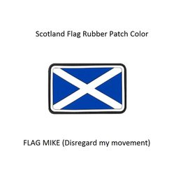Patch - SCOTLAND - Flag Mike