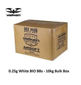 VALKEN 0.25g BIO BB White - 10kg Bulk Box