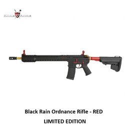 King Arms Black Rain Ordnance Rifle - RED - LIMITED EDITION