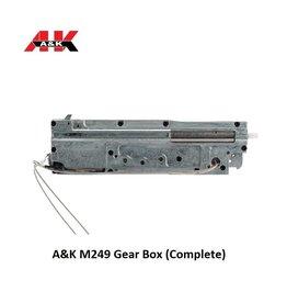 A&K A&K M249 Gear Box (Complete)