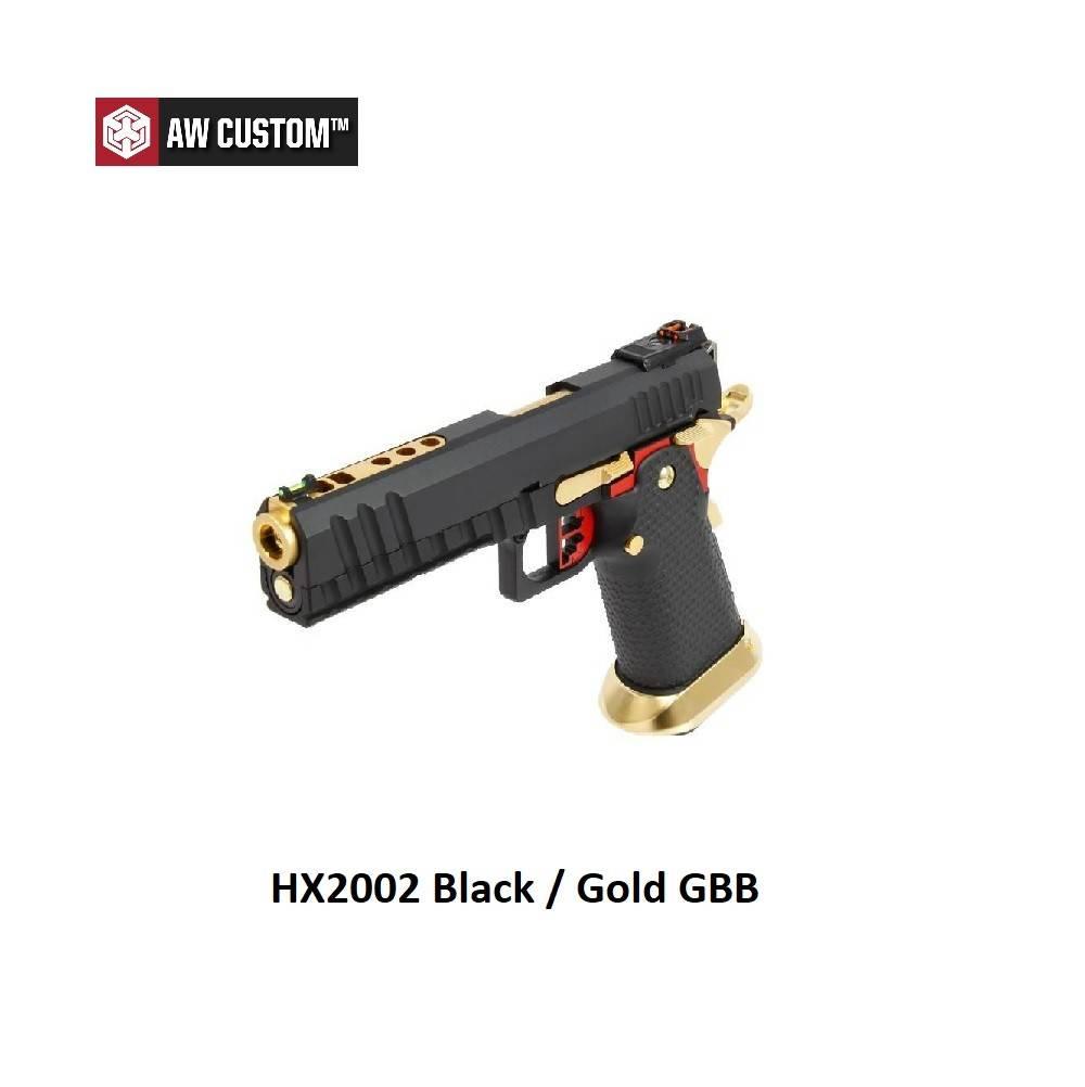 Armorer Works HX2002 Black / Gold GBB