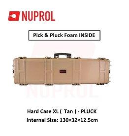 NUPROL Hard Case XL (Tan) - Pluck
