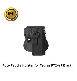 IMI Defense Roto Paddle Holster for Taurus PT24/7 Black