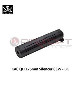 PIRATE ARMS KAC QD 175mm Silencer CCW - BK