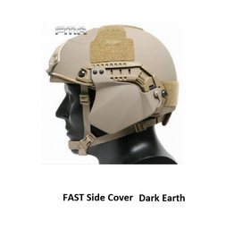 FMA FAST helmet side cover Dark Earth