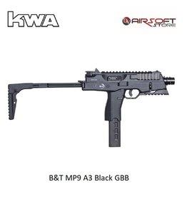 KWA B&T MP9 A3 Black GBB