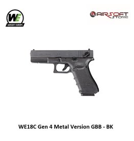 WE Europe WE18C Gen 4 Metal Version GBB - BK