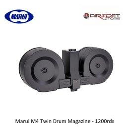 Tokyo Marui Marui M4 Twin Drum Magazine - 1200rds