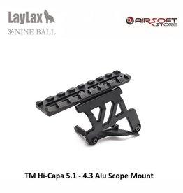 Laylax TM Hi-Capa 5.1 - 4.3 Alu Scope Mount