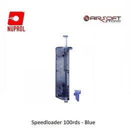 NUPROL Speedloader 100rds - Blue